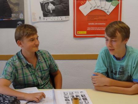 Cursos de Español para jóvenes en España