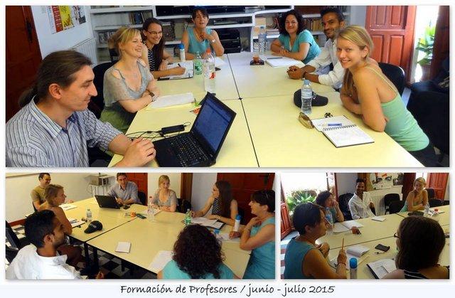 Formación profesores ELE en Granada
