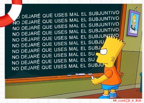 Bart-y-el-subjuntivo